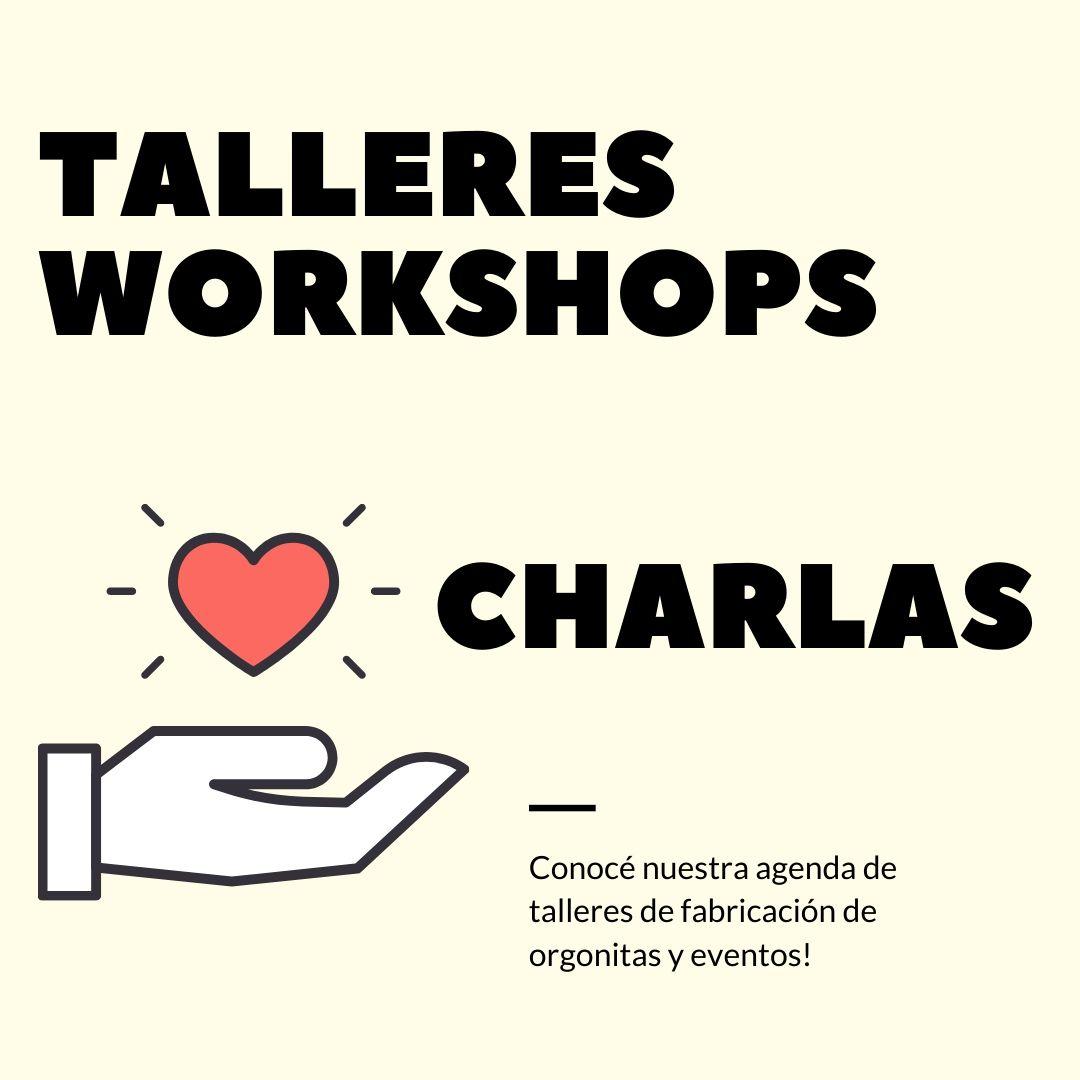 talleres de fabricacion de orgonitas charlas astrologicas