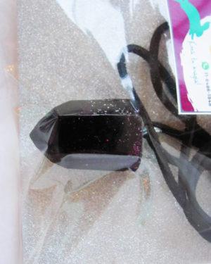 pendulo resina violeta oscuro