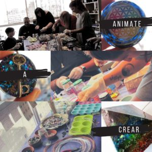 talleres de verano 2020 orgonitas amebaglam