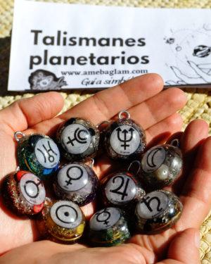talismanes planetarios amebaglam